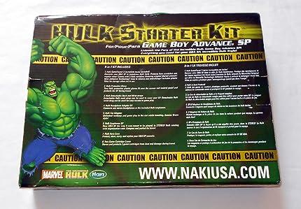 Amazon.com: Marvel The Incredible Hulk Starter Kit - Game ...