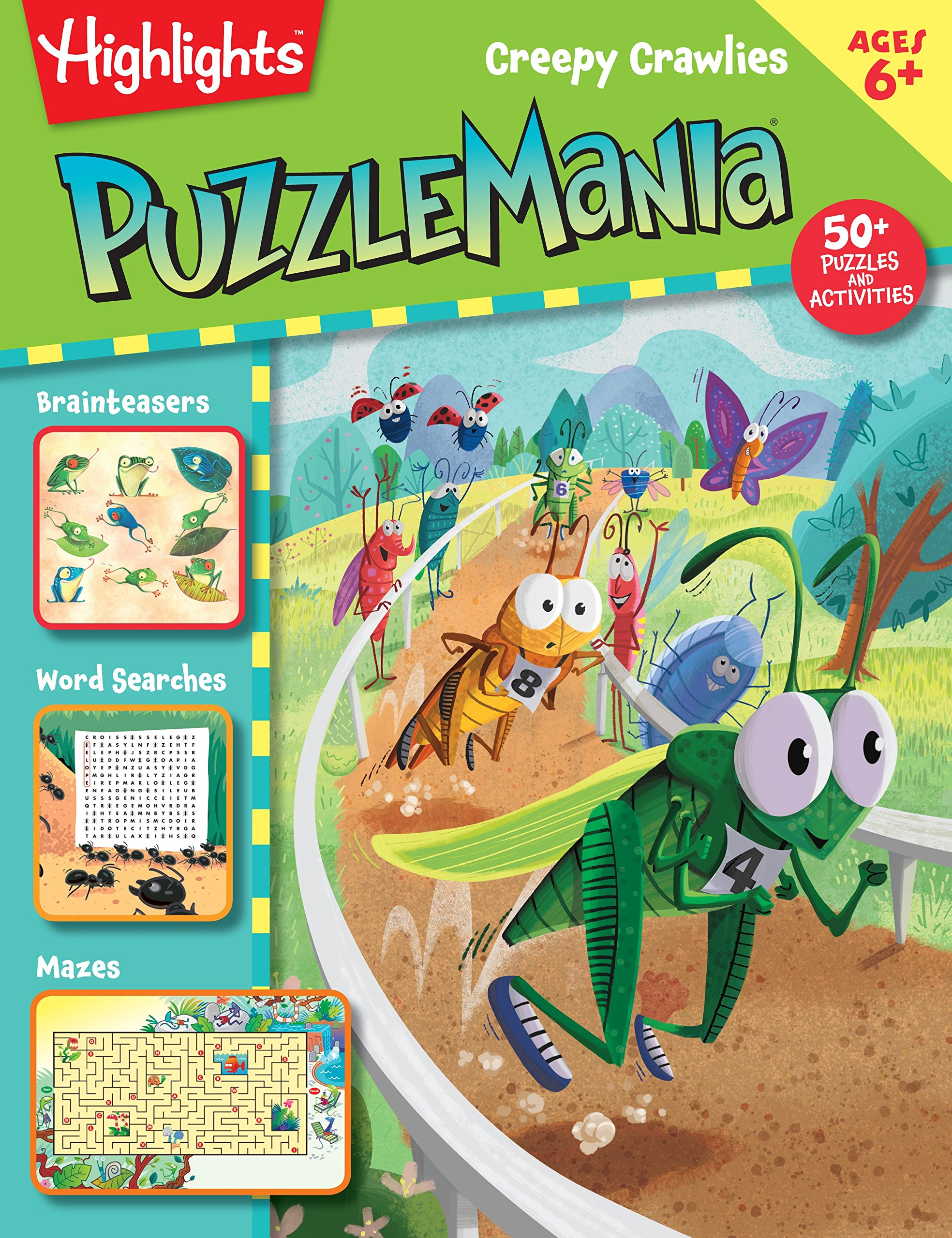 Creepy Crawlies (Highlights™ Puzzlemania® Activity Books)