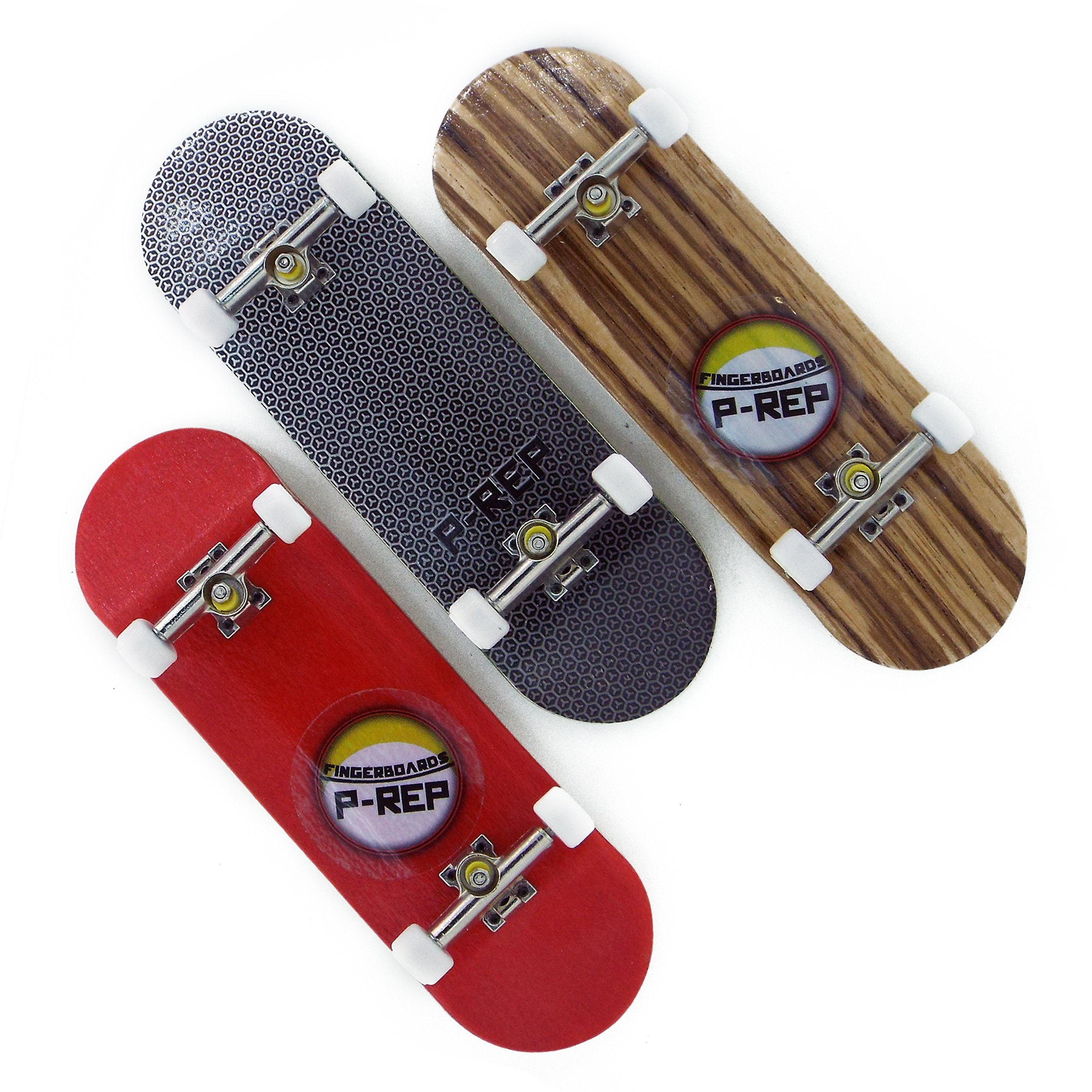 Peoples Republic P-REP Starter Combo 1 - 30mm Wooden Fingerboards Set of 3 by Peoples Republic