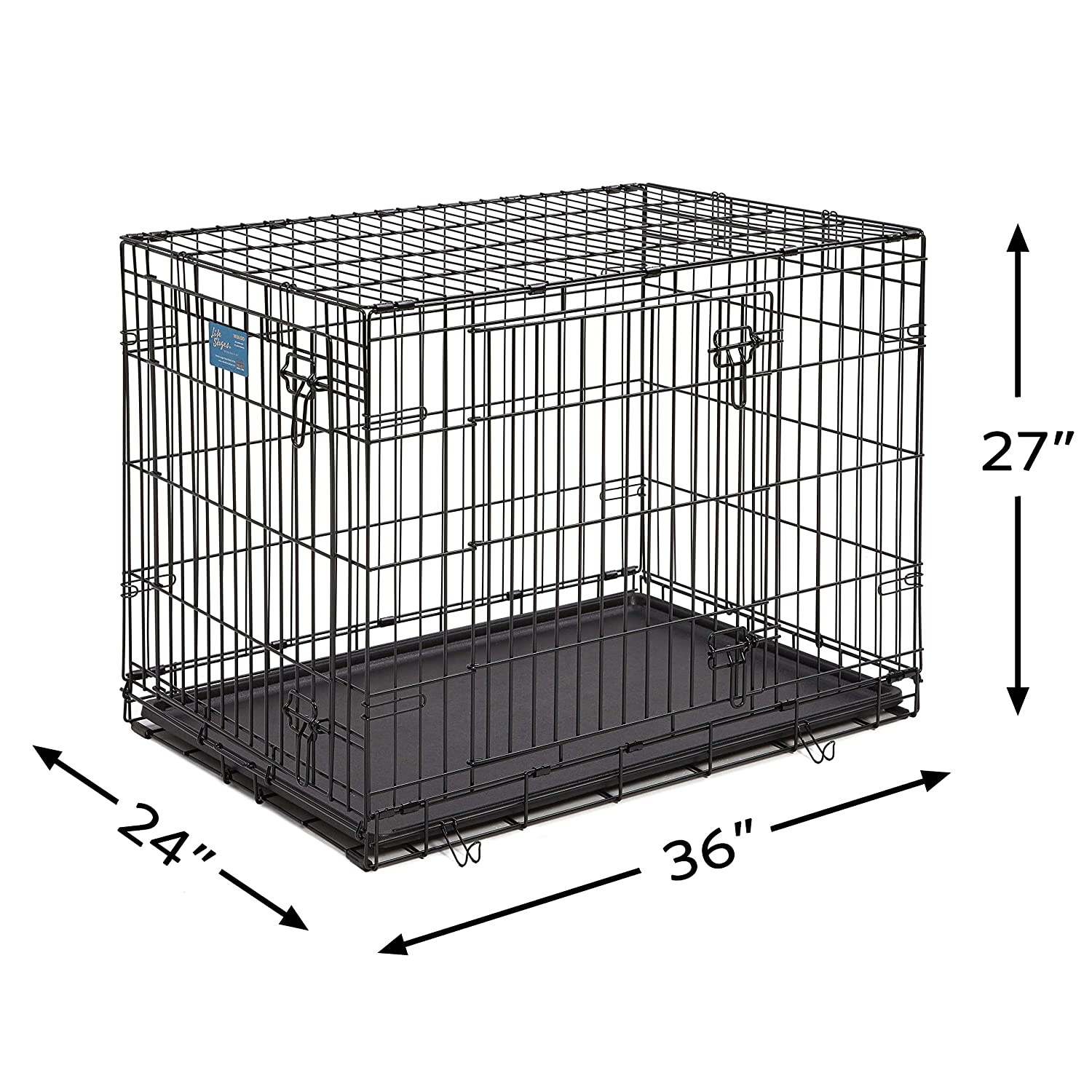 Amazon.com : Dog Crate | MidWest Life Stages 36"|1500|1500|?|en|2|431d5005db0448595ef85e4ec40cbb1f|False|UNLIKELY|0.37303465604782104