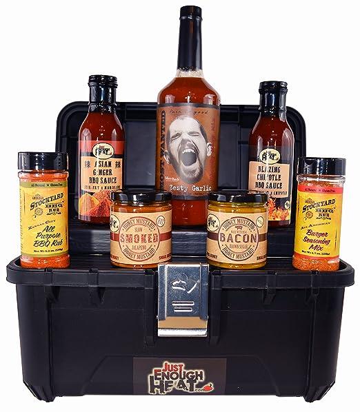 BBQ Sauce Toolbox Gourmet Gift Set