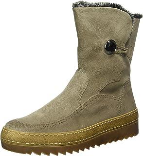 Damenschuhe 56.753.31 Damen Schnürstiefel, Schnürboots, Boots, Stiefel Grau  (elephant ( d213fd62b4