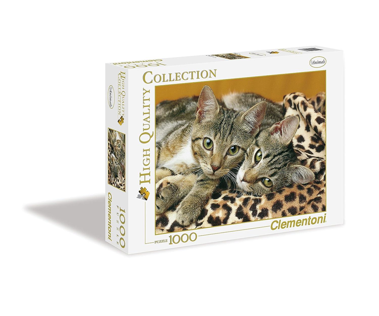 Clementoni - Puzzle de 1000 Piezas,, diseño Los Ojos del Gato (392377)