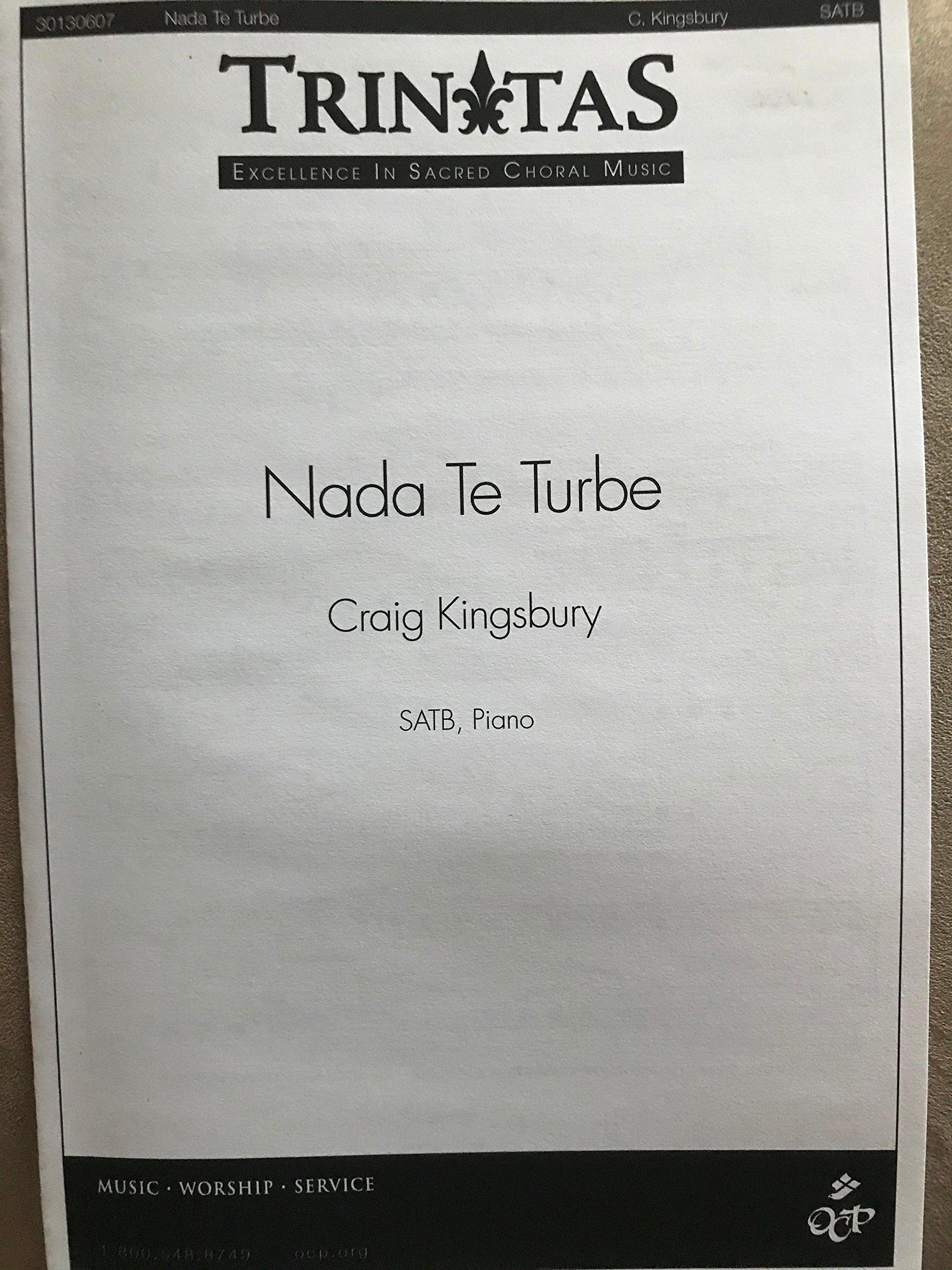 Nada Te Turbe Sheet music – 2005