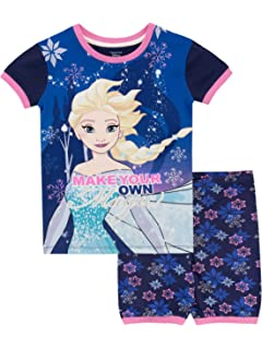 Jellifish Kids Disney Frozen 2 Pajama for Girls Soft /& Warm Sleepwear Parent Purple PJ