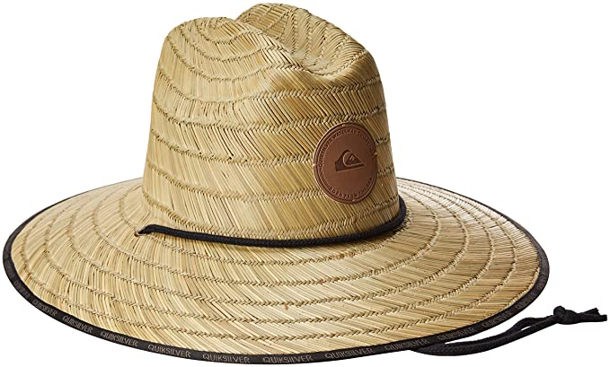 446b82a13 Amazon.com: Quiksilver Waterman Men's Dredge Waterman Straw Sun Hat ...