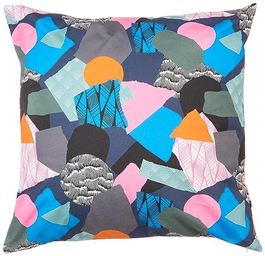 Casa Martin Morel - Cojín Patchwork Wave en algodón - Recto ...