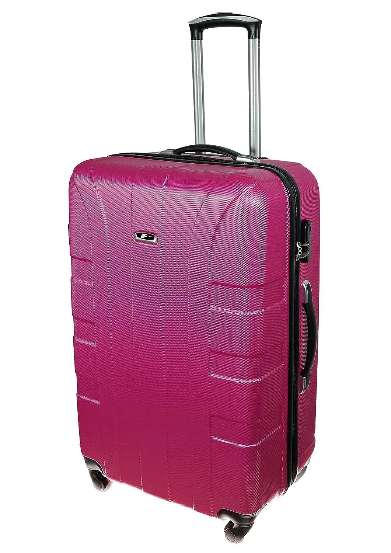 P-Collection Kofferset Hartschale 3-teilig Koffer Trolley Handgepäck Reisekoffer Hartschalenkoffer M - L - XL-3er Set 5 Farben (3er Set, Anthrazit)