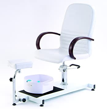 beauty salon supplies luxury pedicure chair with foot spa black
