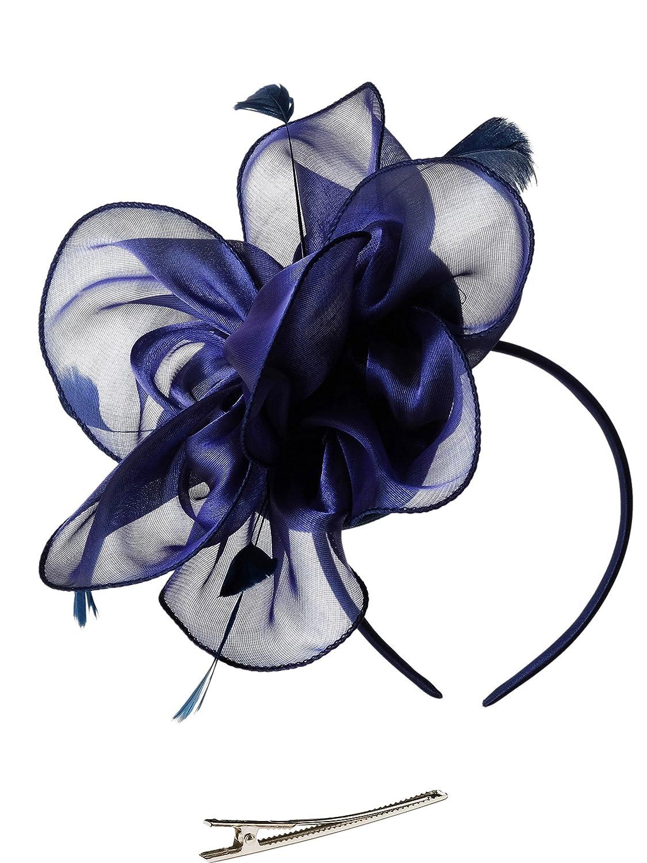 Zivyes Bibi Femme Chapeau de mariage Chapeau Dames Day Bandeau Tea Party Fascinators Derby du Kentucky