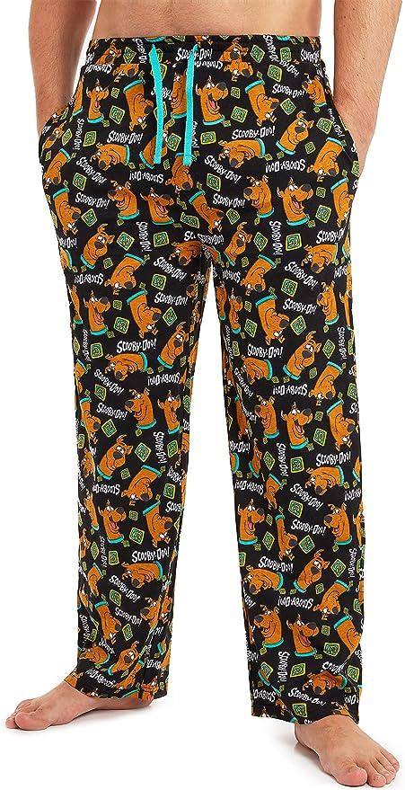 Scooby Doo Pijama Hombre Verano, Pantalones Hombre de Pijama Largos con Estampados de Scooby, Ropa Hombre 100% Algodon, Regalos para Hombre y Adolescentes: Amazon.es: Ropa y accesorios