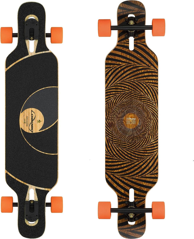 Loaded Boards Tan Tien Bamboo Longboard Skateboard Complete / US