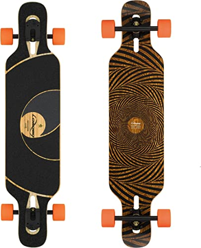 Loaded Boards Tan Tien Bamboo Longboard Skateboard Complete