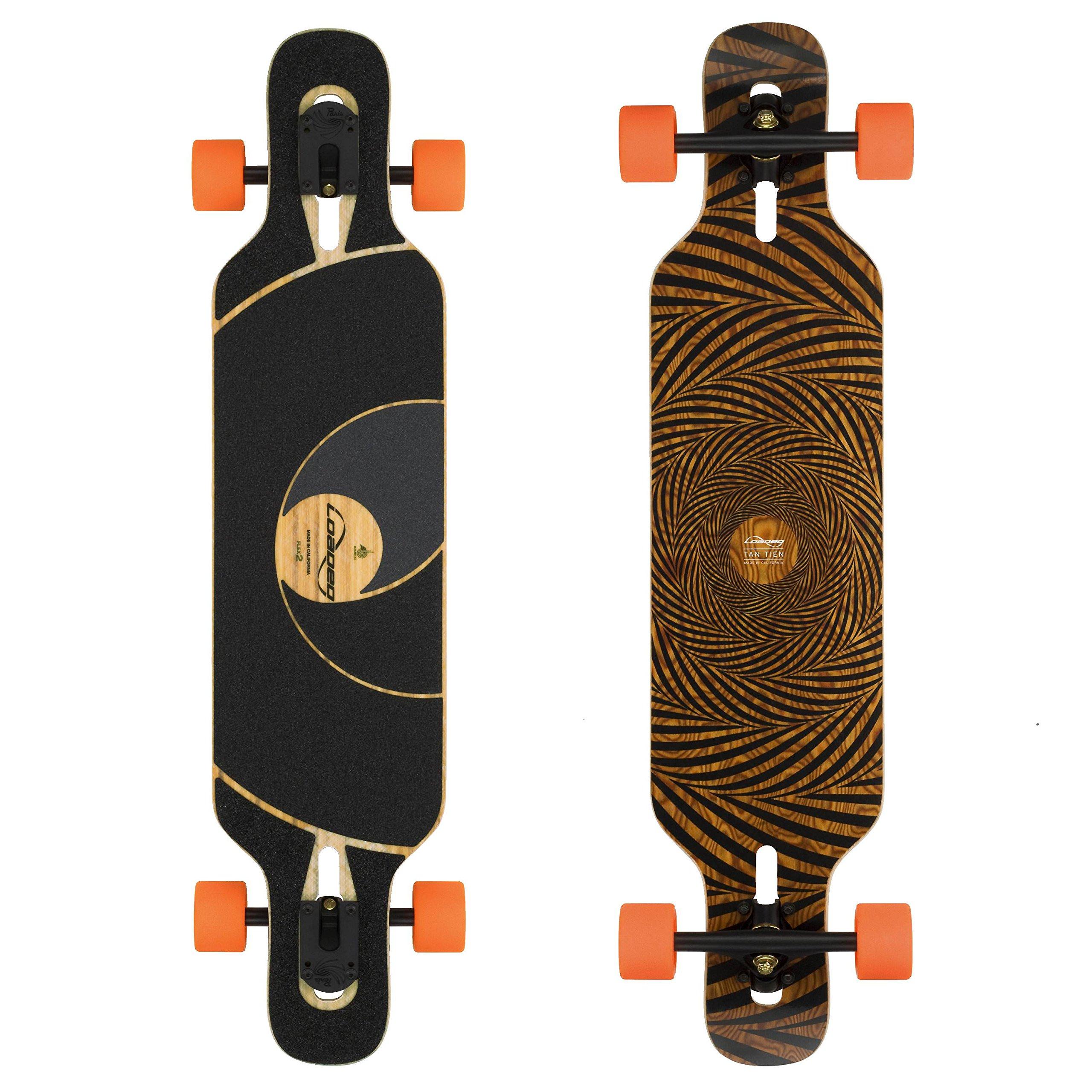 Loaded Boards Tan Tien Bamboo Longboard Skateboard Complete