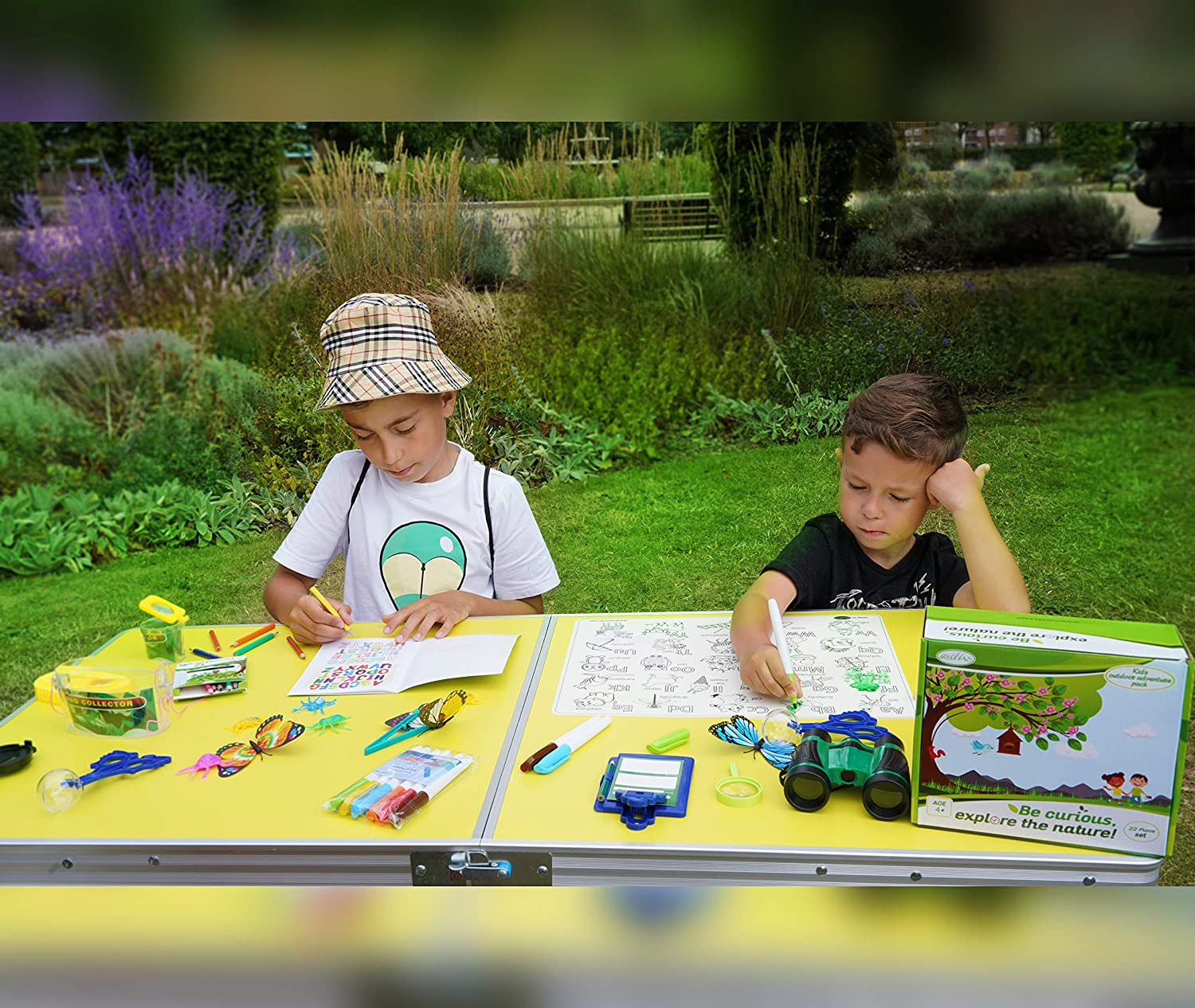 Educational Early Learning Toys for Studying Plants Animals and Bugs RUVVAS Kids Outdoor Adventure Pack Natural Exploration Set for Boys and Girls Bug Catcher Set