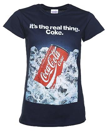 coca cola t shirt damen dose