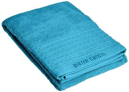Pierre Cardin Toalla Vendome Algodón Peinado, Azul Metálico 36x23x0.6 cm