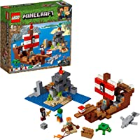 LEGO Minecraft The Pirate Ship Adventure 21152 Playset Toy