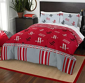 The Northwest Company NBA Houston Rockets Full Bed in a Bag Complete Bedding Set #760115401