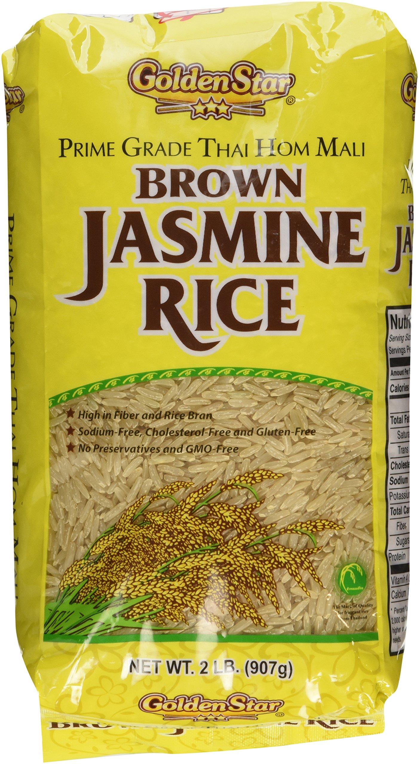 Golden Star Prime Grade Hom Mali Jasmine Rice 2 LB. by GoldenStar