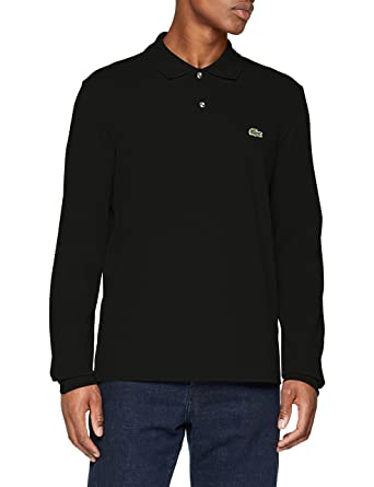 0b74f8388a Lacoste Men's Classic Long Sleeve Pique Polo Shirt