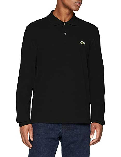 best website 4d4f2 aa163 Lacoste Men's Long Sleeve Pique Classic Fit Chine Polo Shirt