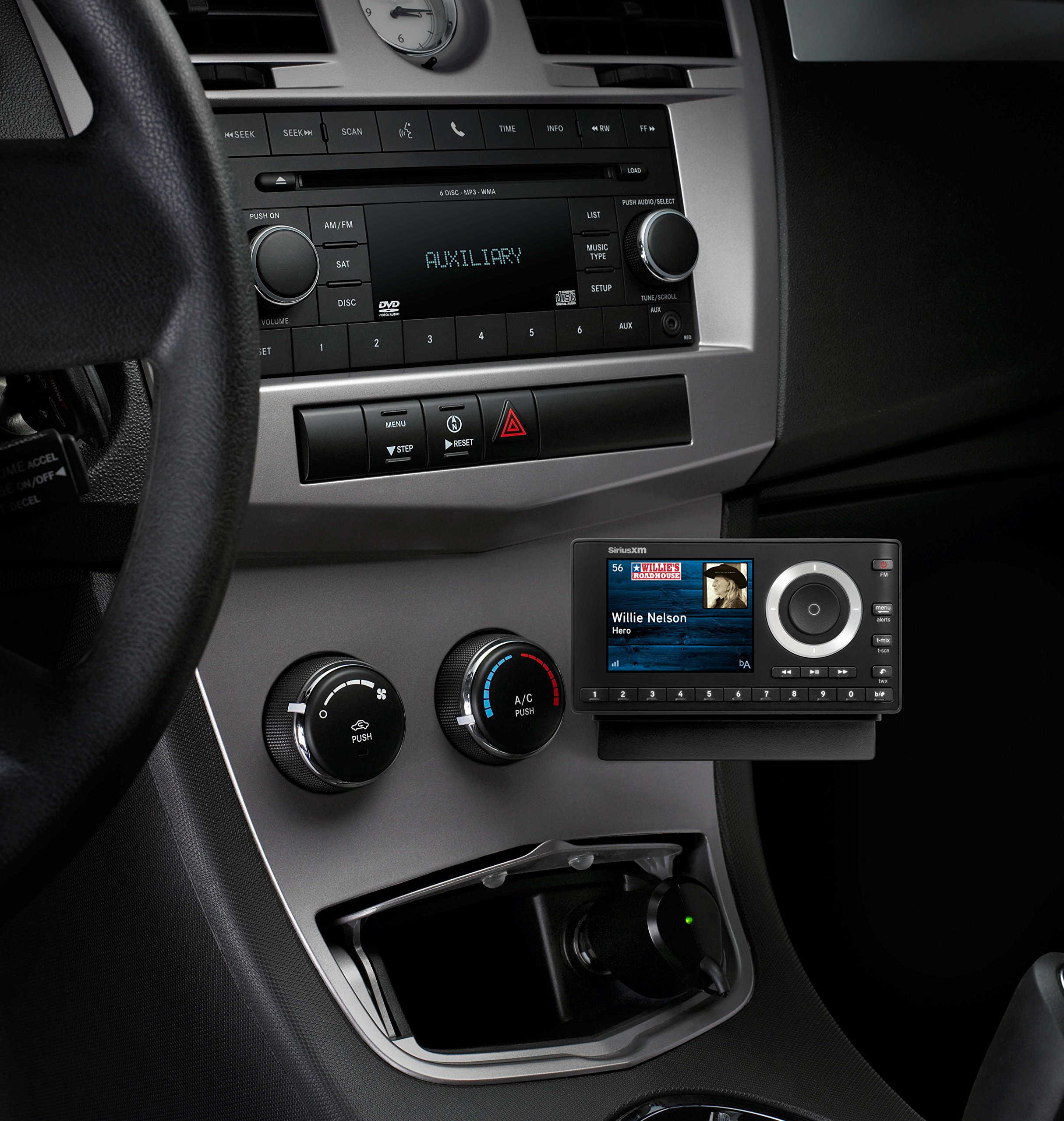 SiriusXM SXPL1V1 Onyx Plus Satellite Radio with Vehicle Kit with Free 3 Months Satellite and Streaming Service by SiriusXM (Image #5)