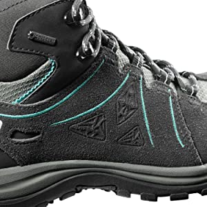 Damen Ellipse Winter GTX Schuhe castor grey UK 7