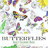 Adult Coloring Book: Butterflies