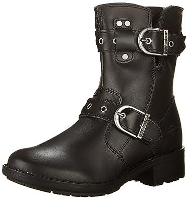 39000eddb4d5 Harley-Davidson Women s Grace 6.75-Inch Black Boots.