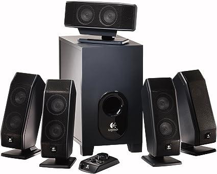 Logitech X-9 9.9 Surround Sound Speaker System with Subwoofer