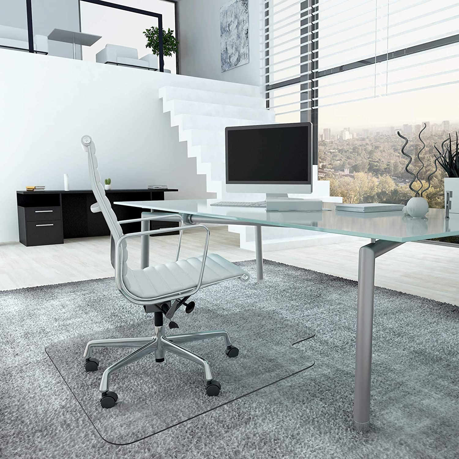 Office Chair Mat for Carpeted Floors - Heavy Duty