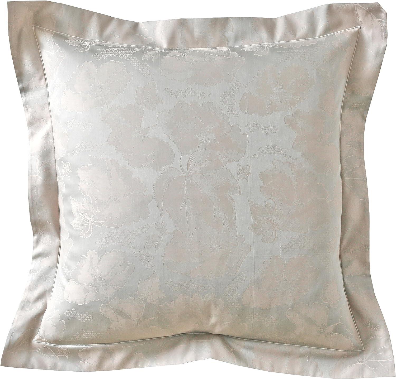 Coton Blanc des Vosges RESEDA Taie Rectangle 50x75 cm Alb/âtre
