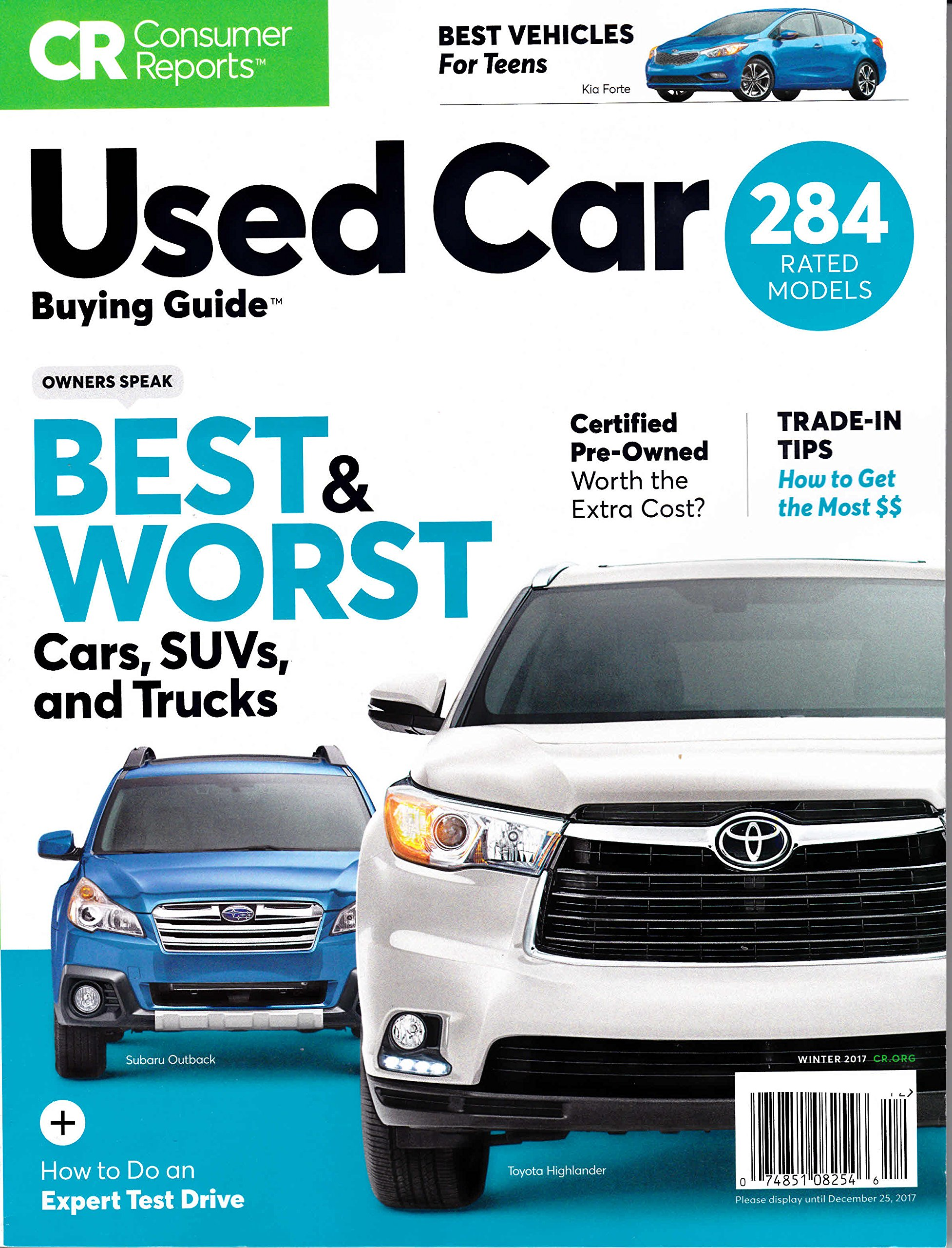 Used Car Buying Guide: Consumer Reports: 9780890438800: Amazon.com ...