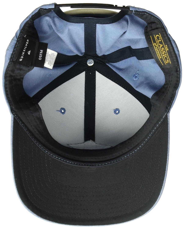 best website 5f5bd 2b9ce Quiksilver Men s Union Heather SB Trucker Hat, Bijou Blue, One Size   Amazon.co.uk  Clothing