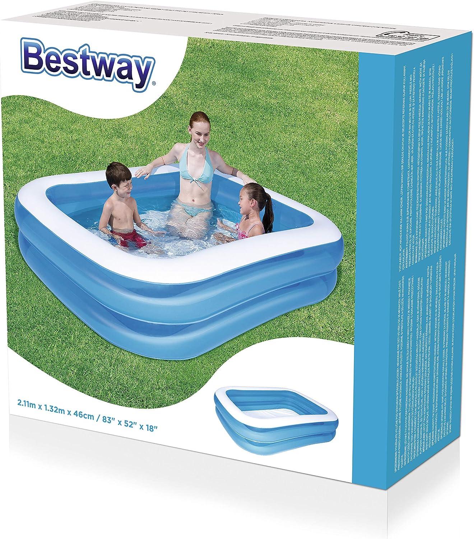 Bestway - Piscina Rectangular, Color Azul, Color Azul (12819 ...