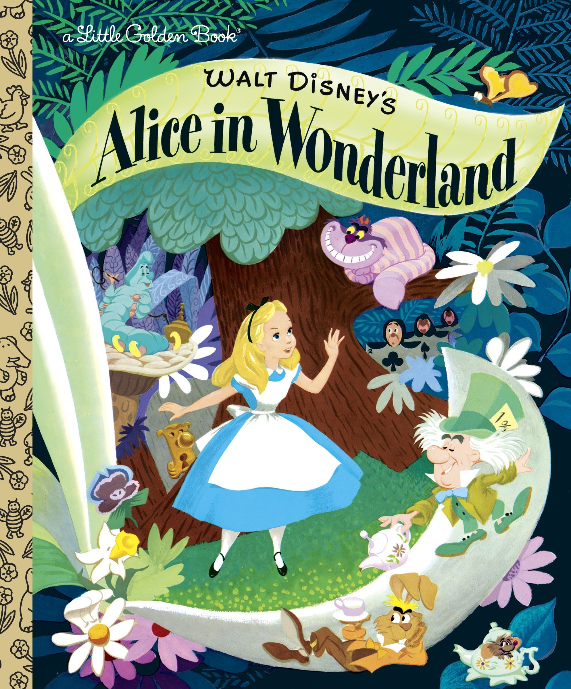 Walt Disney's Alice in Wonderland (Little Golden Books) Hardcover – January 5, 2010 RH Disney Golden/Disney 0736426701 9780736426701