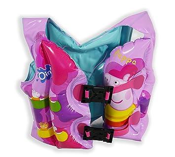 Peppa Pig - Chaleco hinchable (Saica Toys 9116): Amazon.es: Juguetes y juegos