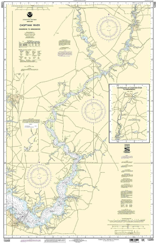 12268 -- choptank Río - Cambridge a Greensboro: Amazon.es ...