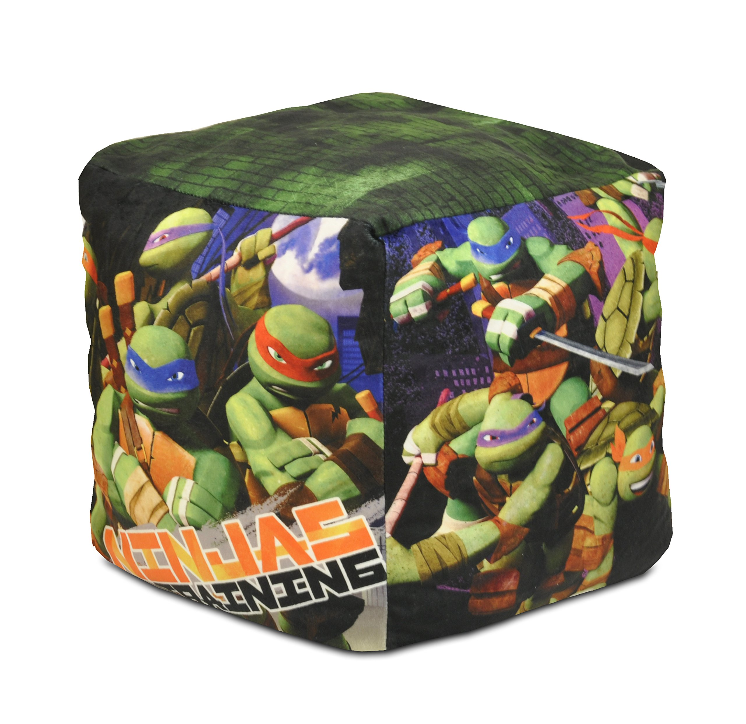 Nickelodeon Teenage Mutant Ninja Turtles Square Pouf by Nickelodeon