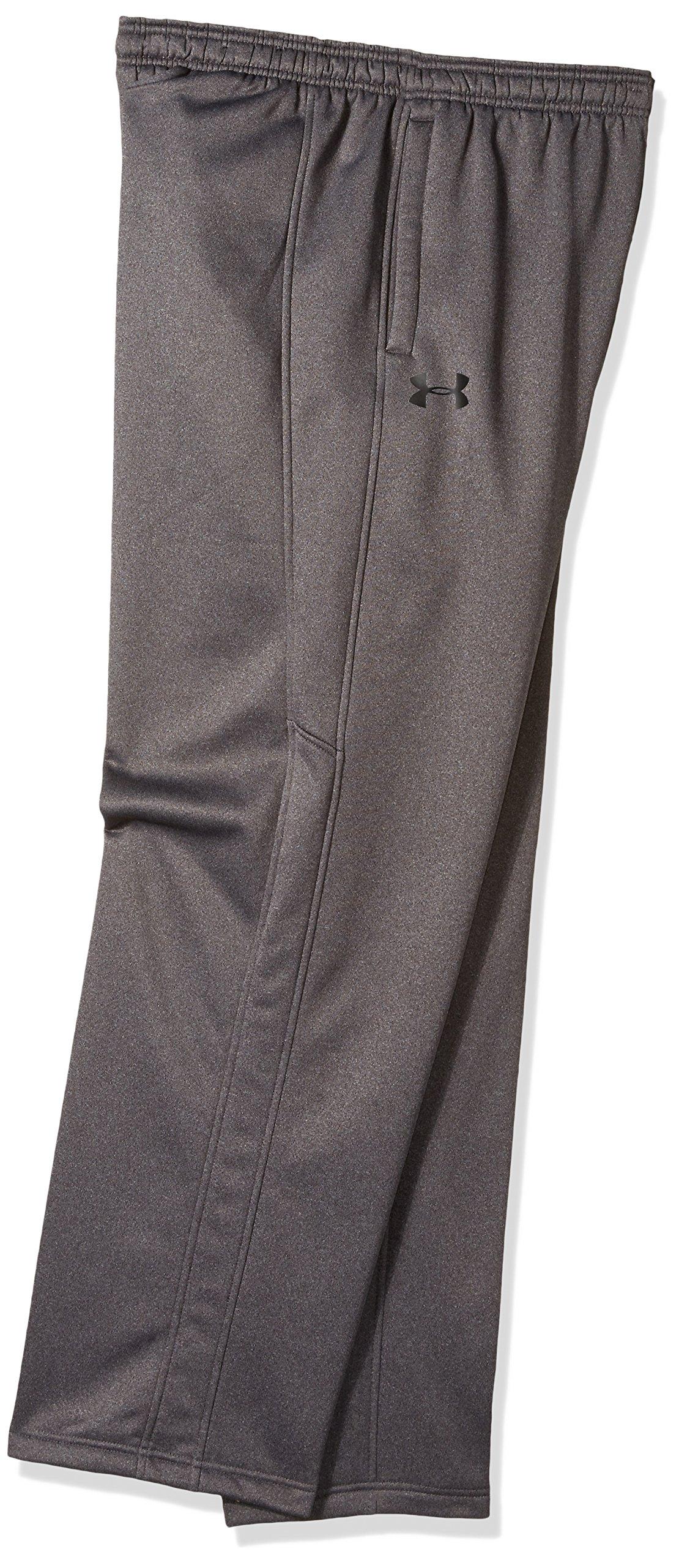 Under Armour Men's Storm Armour Fleece Pants, Carbon Heather /Black, X-Small by Under Armour (Image #2)