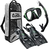 TUSA Sport Adult Powerview Dry Travel Set