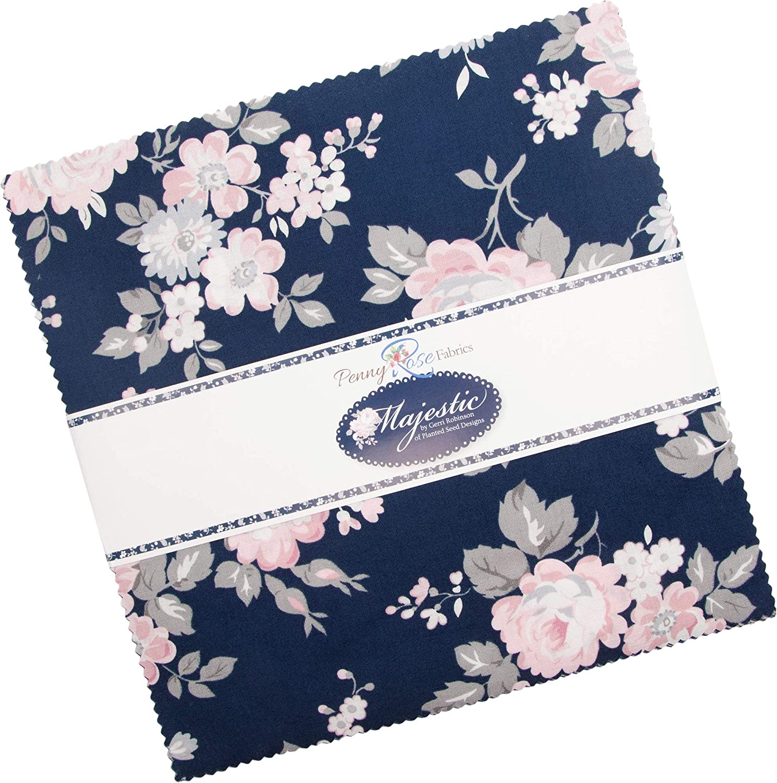 Gerri Robinson Majestic 10 Stacker 42 10-inch Squares Layer Cake Penny Rose Fabrics