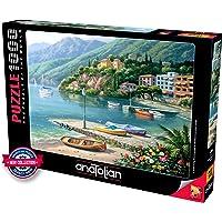 Anatolian Liman Hillside Harbor Cove 1000 Parça Puzzle