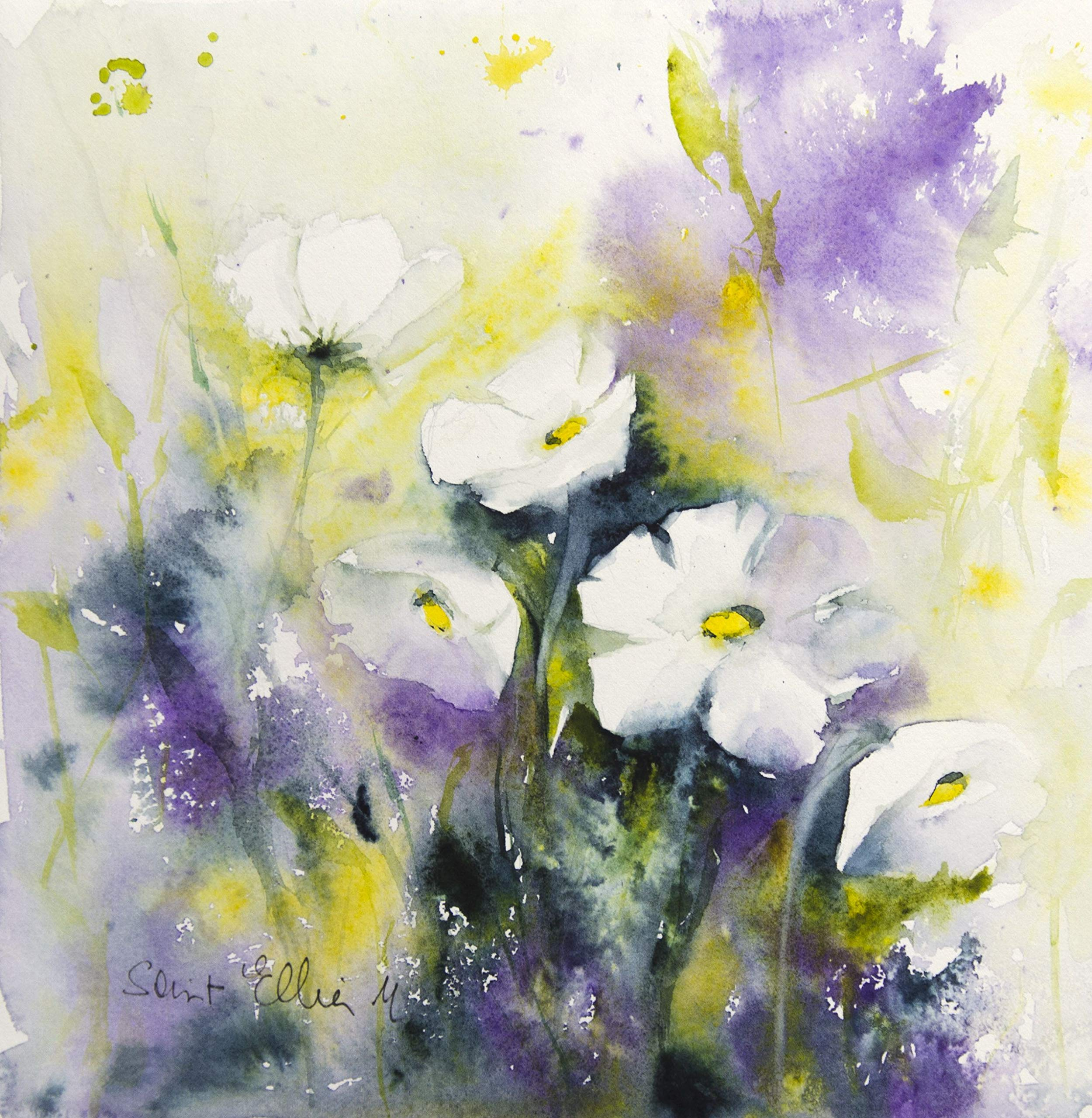 Purple spring by