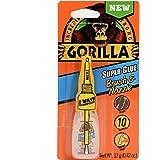 Gorilla 7501201 Super Glue Brush & Nozzle, 12g, Clear
