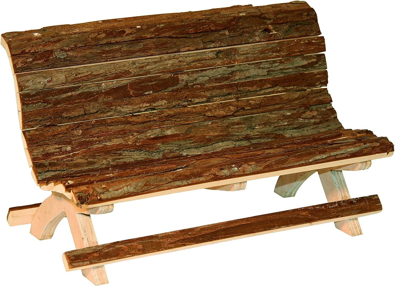 Banco de madera para conejillos de Indias y conejos enanos, NATURE ...