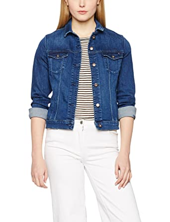 Tommy Hilfiger Verona JKT Mary, Blouson Femme, (Mary), 40 (Taille Fabricant: 10)