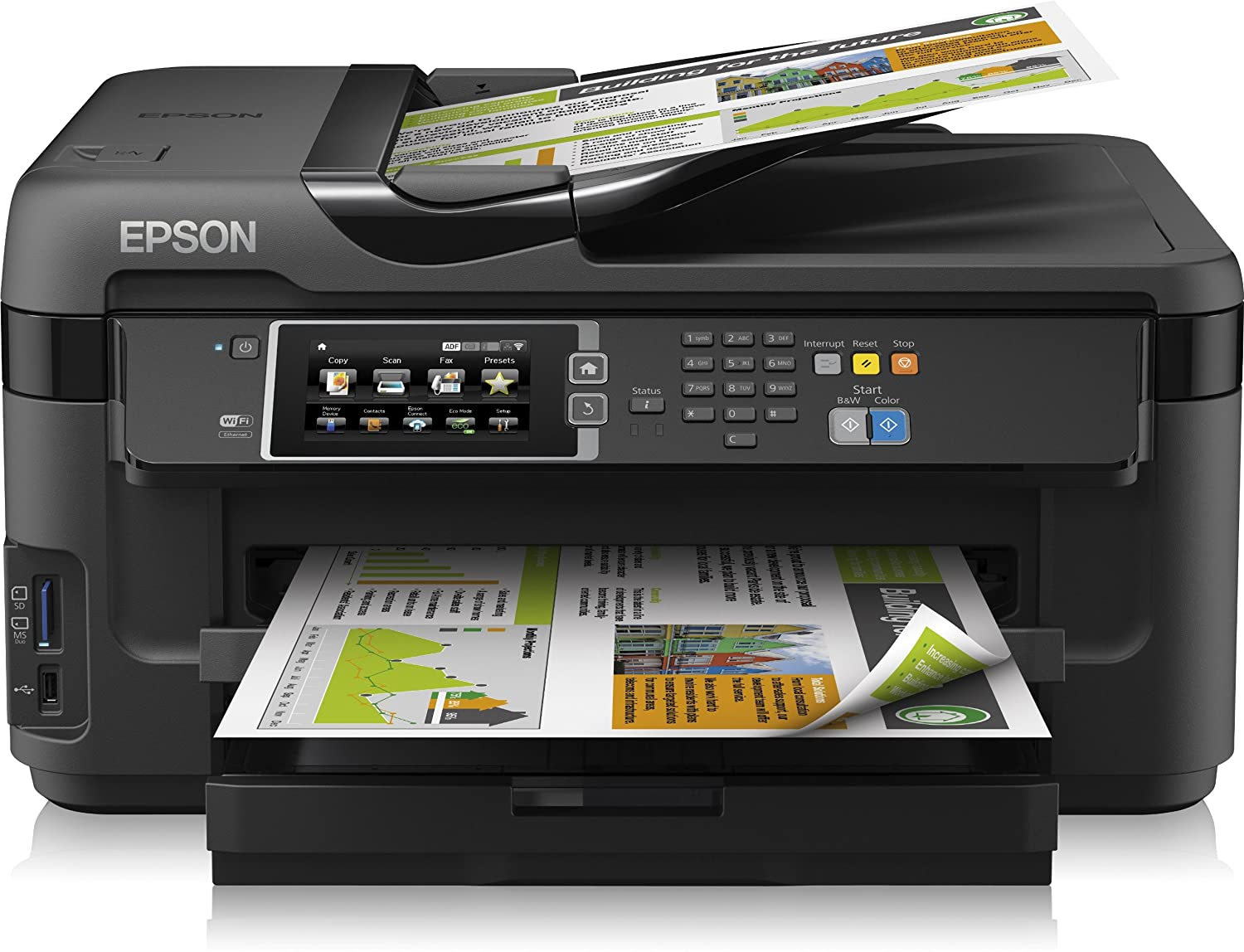 Amazon.com: Epson Workforce WF-7610DWF Imprimante Couleur ...