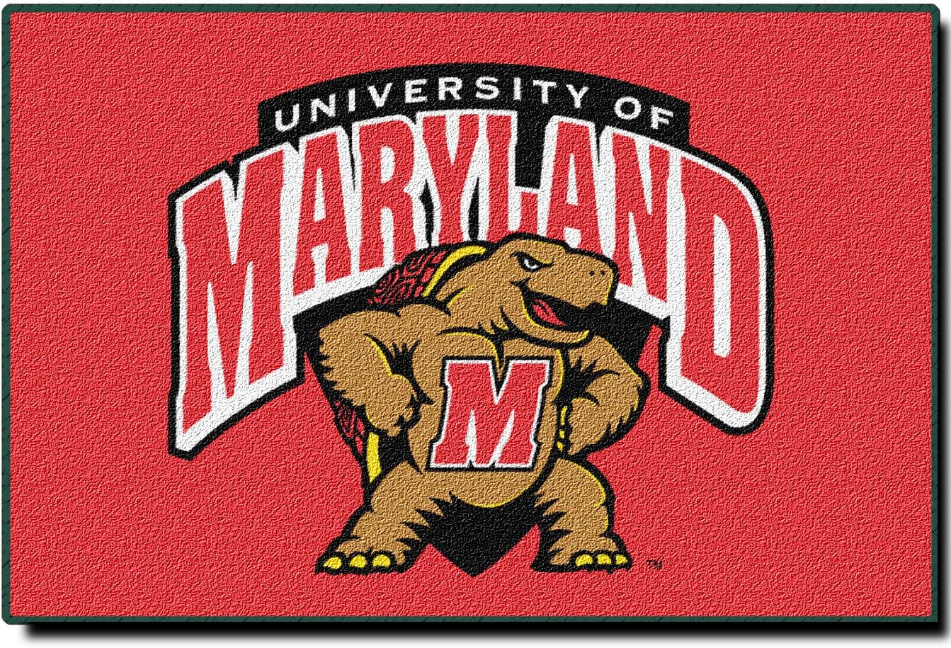 Evergreen NCAA Maryland Terrapins Indoor/Outdoor Door Mat